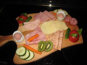 Frühstückplatte